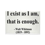 Walter Whitman 18 Rectangle Magnet (10 pack)