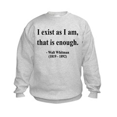 Walter Whitman 18 Sweatshirt
