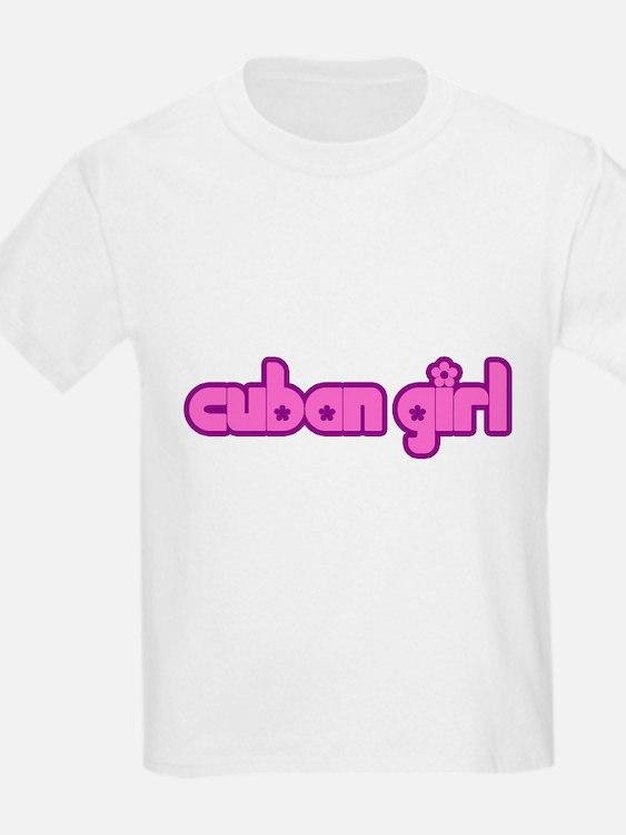 Cuban Girl Cute Cuba T-Shirt