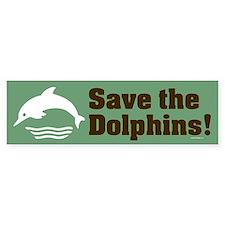 DOLPHIN Bumper Bumper Sticker