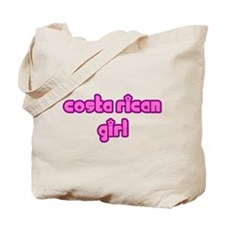 Costa Rican Girl Cute Tote Bag