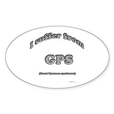 Great Pyr Syndrome2 Oval Decal