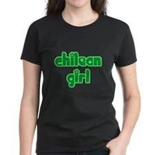 Chilean Girl Cute Chile Tee