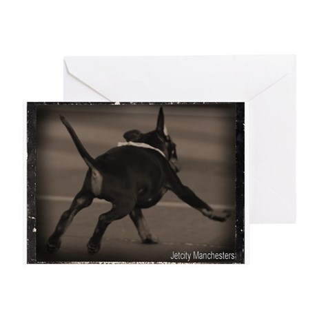 Puppy Zoom Greeting Card