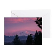 Mt Rainier Greeting Cards (Pk of 20)