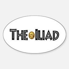 Iliad Oval Decal