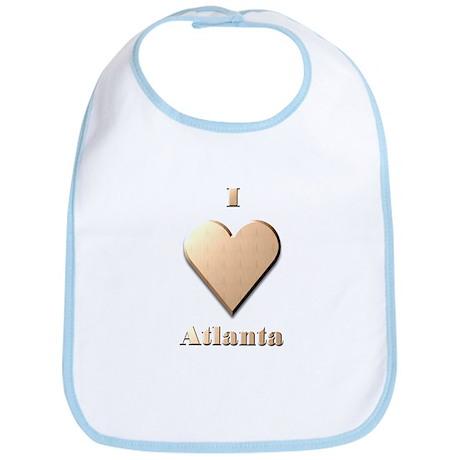 I Love Atlanta #8 Bib
