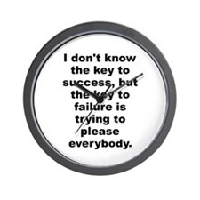 Funny Bill cosby quote Wall Clock