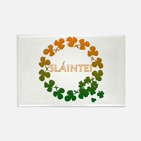 Slainte Irish Toast Rectangle Magnet