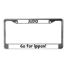Ippon License Plate Frame