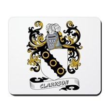 Clarkson Coat of Arms Mousepad