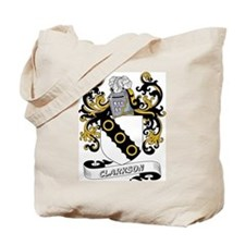 Clarkson Coat of Arms Tote Bag