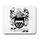 Clayborne Coat of Arms Mousepad