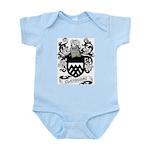Clayborne Coat of Arms Infant Creeper