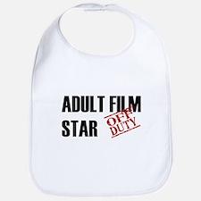 Off Duty Adult Film Star Bib