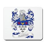 Clinton Coat of Arms Mousepad