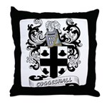 Coggeshall Coat of Arms Throw Pillow