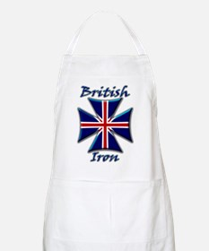 British Iron Maltese Cross   BBQ Apron
