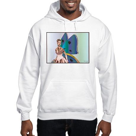 Natalia, Portrait of a Fairy Hooded Sweatshirt