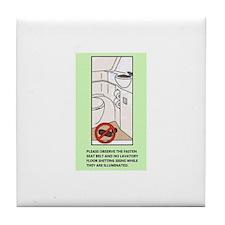 Lavatory Floor Tile Coaster