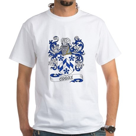 Cooke Coat of Arms White T-Shirt