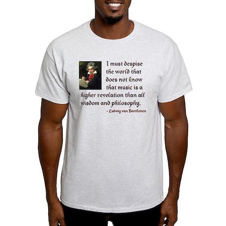 Beethoven--Music as Revelation Light T-Shirt