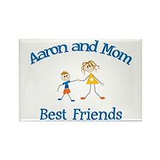 Aaron& Mom - Best Friends Rectangle Magnet
