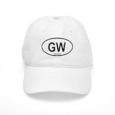 """Guinea-Bissau """"GW"""" Oval Baseball Cap"""