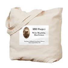 1890 Project Regaining Our Census Tote Bag