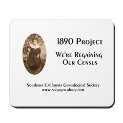 1890 Project Regaining Our Census Mousepad