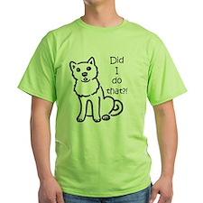 Shiba Did I Do That?! T-Shirt