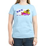Sex On The Water Women's Pink T-Shirt