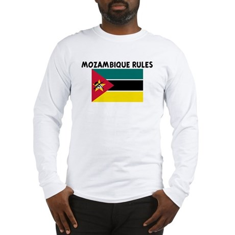 MOZAMBIQUE RULES Long Sleeve T-Shirt