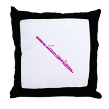 Bassoons Gone Wild Throw Pillow