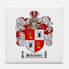 Schroeder Coat of Arms Tile Coaster