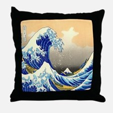Great Wave Throw Pillow