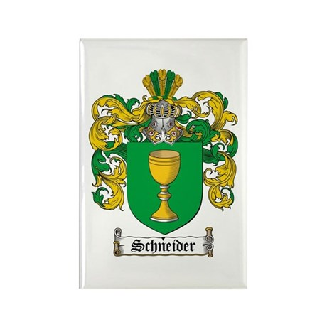 Schneider Coat of Arms Rectangle Magnet (10 pack)