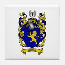 Schmidt Coat of Arms Tile Coaster