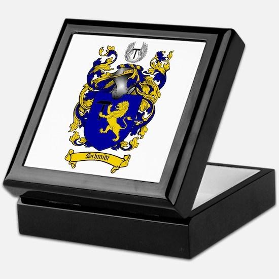 Schmidt Coat of Arms Keepsake Box