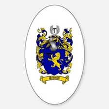 Schmidt Coat of Arms Oval Decal