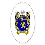 Schmidt Coat of Arms Oval Sticker