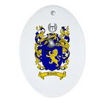 Schmidt Coat of Arms Oval Ornament