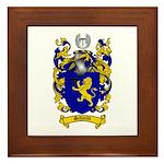 Schmidt Coat of Arms Framed Tile