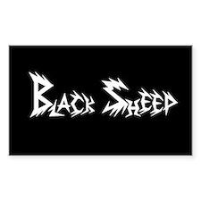 Black Sheep Bumper Decal