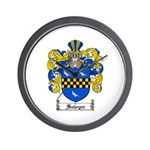 Sawyer Coat of Arms Wall Clock
