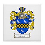 Sawyer Coat of Arms Tile Coaster
