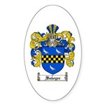 Sawyer Coat of Arms Oval Sticker