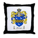Sawyer Coat of Arms Throw Pillow