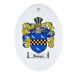 Sawyer Coat of Arms Oval Ornament