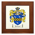 Sawyer Coat of Arms Framed Tile
